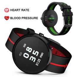 Мужские наручные часы онлайн-V06S Smart Браслеты браслет Английский фитнес-трекер Smart Band кровяного давления Heart Rate Monitor Adult Sleep Smart Watch Wristband