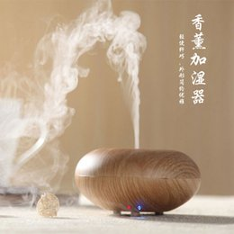Wholesale Rohs Generator - Ultrasonic Air Humidifier Aroma Oil Diffuser Ionizer Generator Aromatherapy Champignon Office Purifier Mist Maker 12W 110-240V