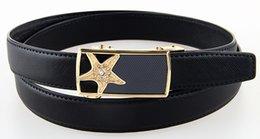 Wholesale Lady Jeans Belt - New arrival 2015 woman belts genuine leather belt straps for jeans cowhide belt for ladies female 2016 pouplar designer belt 1LW12