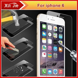 Wholesale Order New Iphone Screen - New Arrival! Shock proof Explosion proof Screen Protector Protective Film For iPhone 6 6G 4.7 With Retail Package top quality order<$18no tr