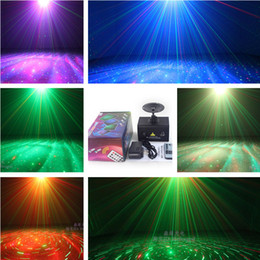 Wholesale Twinkling Party Disco Light - Mini Red & Green remote control Moving Party Stage LED Laser Light Projector,Stage Lighting effect lights twinkle,Disco dj show