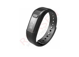 Wholesale Remote Vibrating Bracelet - Bluetooth Bracelet healthy Smartwatch wristhand watch smart watch Clock Vibrating Pedometer Mileage Sleep mode for iPhone IOS and Android