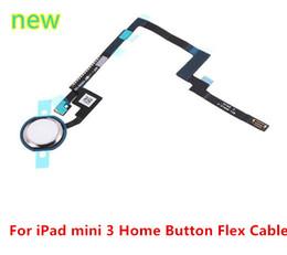 2019 cavo ipad mini casa pulsante flessibile Per Ipad MINI Sensor Home Page Button Connector Home Tasto Tasto Flex Cable Ribbon Sensor per ipad mini 3 sconti cavo ipad mini casa pulsante flessibile