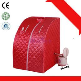 Wholesale Brand Salon - Brand New Foldable Skin Care Steam Sauna SPA salon Weight Loss Full Body Detox Slimming machine Portable design