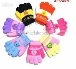 Wholesale Cute Baby Boy Picture - Wholesale-Wholesale - Children  Baby boys girls Gloves Mitten Children's Warm-keeping Glove love cute picture