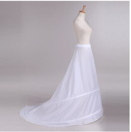 Wholesale Evening China - 2015 Long Train white Cheap Wedding Petticoat  Underskirt Petticoat for Wedding Dress Evening Made In China wedding accessories