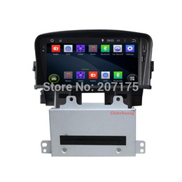 Wholesale Chevrolet Cruze Rear - Quad CoreLatest Android 4.4 Car DVD GPS for Chevrolet Cruze Head unit with Radio RDS,Canbus,WiFi,Mirrorl ink,Free 8G Map