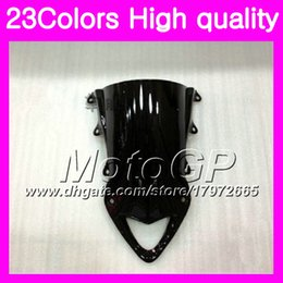 Wholesale Bmw Rr - 23Colors Windscreen For BMW S1000R S1000RR 09 10 11 12 13 14 S1000 RR 2009 2010 2011 13 2014 Chrome Black GPear Smoke Windshield