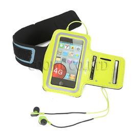 "Wholesale Waterproof Iphone Covers Armband - DHL free Armband bag Case Nylon Running Gym Sport Arm Band Cover waterproof For iphone 6 4.7"" 5.5"" 5S galaxy S6 S5 S4 G9200"