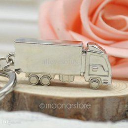 Wholesale Antique Solid Silver - Wholesale-2015 New Car key Truck keychain metal keychain Solid personality minivan sports trinket key ring Free shipping 20MHM141