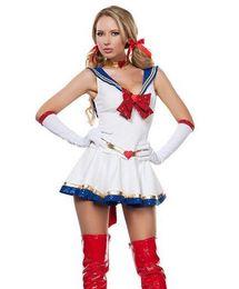 Wholesale Sailor Moon Uniform - Sailor Moon anime cosplay costume Halloween costume game uniform
