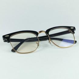Lente de tamaño online-Acetato Real de Calidad Superior 5154 Gafas de Diseño Profesional Marco Óptico 51mm Tamaño 4 Colores Fácil de Cambiar las Lentes