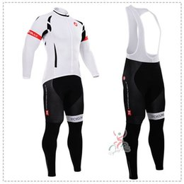 Wholesale Best Selling Clothes - Best selling 2015 male pro team bicycle clothing Autum cycling jersey long sleeve cycling jerseys+ bib pants cycling Bib suits suitable