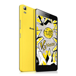 Wholesale Note Smartphone 4g - Lenovo K3 Note Android 5.0 Lollipop MTK6752 64Bit Octa Core 2G RAM 16G ROM 5.5Inch 13.0MP Camera 4G LTE Smartphone