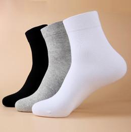 2019 gold cup socken Auf Clearan 1 Paar Freies Verschiffen New Classic schwarz weiß grau solide 3 Farben Socken Mode Markenqualität Herrensocken Casual Socken für Männer