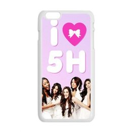 Wholesale Iphone 4s Pictures - Hot Band Fifth Harmony Lauren Jauregui Pictures High Quality Protective Durable Back Case Cover Shel For iPhone 4 4s 5c 5 5S 6 6s Plus