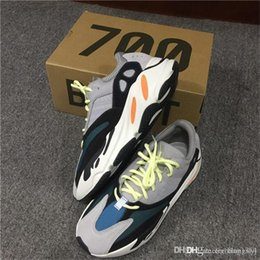 Wholesale Wholesale Casual Shoes For Men - 2017 Originals Kanye West Wave Runner 700 Running Shoes for Men Season 5 700s Boost Women Fashion Casual Sports Sneakers