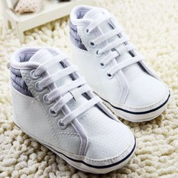 Wholesale Baby Walkers For Sale - Infant Children Sport Shoes For 2015 Winter Hot Sale Baby Boys First Walker Shoes Girls Casual Soft Shoes Fit 0-18M 6Pcs Lot SS703