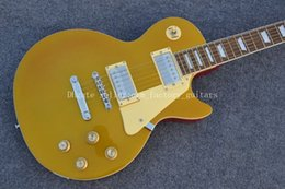 Wholesale Electric Guitar Slash Gold - OEM Factory 2015 LP New! LP slash guitar, Light gold top Tiger maple top, mahogany electric guitar free shipping