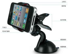 Wholesale Celular Gps - Rushed Limited No Camera Stand Suporte Para Celular Mini Universal Mobile Phone Holder for phone for Car Gps New