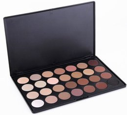 Wholesale 28 Color Eyeshadow Palette Wholesale - 120pcs lot Professtional 28 Color Eyeshadow Palette Natural Warm Eyeshadow Palette Eye Shadow Makeup Lady Nude Colorful Free DHL Shipping