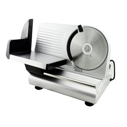 """Wholesale restaurant meat slicer - New Electric Food Slicer Meat Commercial Steel Cheese Cut Restaurant Home 7.5"""" Blade"""