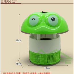 Wholesale Electrical Photocatalyst - Wholesale-2 pieces lot Cartoon suction photocatalyst mosquito trap Electric insect pest catcher lamp Electrical mosquito killer