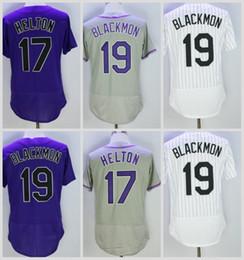 Flexbase 19 Чарли Блэкмон Джерси Колорадо Бейсбол Трикотажные Изделия Чарли Блэкмон Униформа Прохладный База Белый Полосатый Фиолетовый Серый cheap purple pinstripe jersey от Поставщики фиолетовый полосатый трикотаж