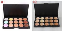 Высокий камуфляжный макияж онлайн-Горячая профессиональный 15 цветов маскирующее камуфляж новый макияж палитра высокое качество с бесплатная доставка DHL