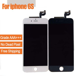 Iphone grade aaa en Ligne-Écran LCD pour iPhone 6S, grade Écran d'affichage LCD AAA +++ Avec bon 3D Touch pièces de réparation de numériseur