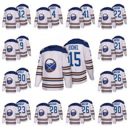 Wholesale Men Winter Jack - 2018 Buffalo Sabres Hockey Jerseys 15 Jack Eichel 90 Ryan O'Reilly 9 Evander Kane 21 Kyle Okposo 2018 Winter Classic Jerseys Stitched