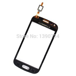 Wholesale Galaxy Ace 2x - Wholesale-Good Quality White Replacement Glass Panel Touch Screen Digitizer For Samsung Galaxy Ace 2X S7560   S Duos S7562 Free Shipping