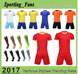 Wholesale Orange Diy - B807 1609 soccer training jerseys,football sets,soccer uniforms! DIY your team mark,soccer wear, cuztomzied any team design