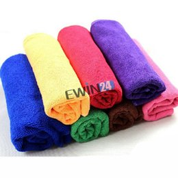 Wholesale Clean Towels For Cars - New and Thicken higher quality Soft Fabric Cleaning Washing Towel Microfiber Cloth For Car 30*70CM Car Accessories 100pcs