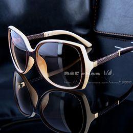 Wholesale Glasses Sun Female - Retro vintage sunglasses women brand designer protection female Luxury brand sun glasses with brand logo women sunglasses