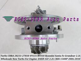 Hyundai turbo kartusche online-Turbo Cartridge CHRA Turbolader TF035 28231-27810 49135-07310 49135-07312 49135-07311 Für HYUNDAI Santa Fe Grandeur 2.2L CRDi 06- D4EB 16V