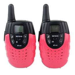 Wholesale Mini Radio Monitor - 2pcs Mini Retevis RT-A1 UHF VOX 22 Channel 0.5W Channel Scan VOX Monitor CTCSS For Kid Two Way Radio A9102C