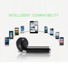 Wholesale Earphones Mini Usb - Wireless Bluetooth headphones portable Mini headset single earphone Universal for iphone 8 X Samsung smart phones with retail package