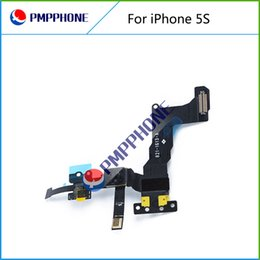Wholesale Iphone 5s Lighting Cable - Hot Seliing Proximity Light Sensor with Front Camera Flex Cable Ribbon for iPhone 5S Free Shipping