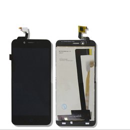 Wholesale Replacement Touch Screen Panel Zte - Wholesale- For ZTE Blade A460 L4 New Black White Touch Screen Digitizer Glass Sensor+LCD Display Panel Screen Assembly Replacement