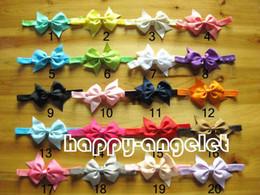 Wholesale Pinwheel Bows - 50pcs 3'' cabelo daminha Pinwheel bows Hair Clips,Grosgrain ribbon hair bows,Pin Wheel Baby bows Hairpins with stretchy hair band SG8616