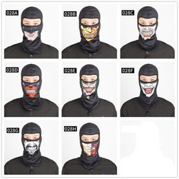 Wholesale Tactical Helmet Face Mask - Wholesale- Breathable Windproof Tactical Army Snowboard Bicycle Helmet Liner Hats UV Protection Full Face Mask Headgear Warm Scarf M29