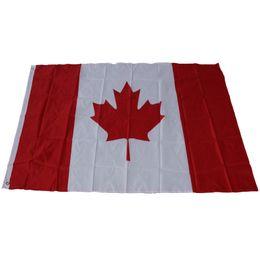 Wholesale Cm Festival - Canada National Flag 90*150cm For World Cup Activity Parade Festival Celebration Decor Home Decoration 3*5ft Banner 6qta C R