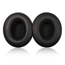 Wholesale Cushion S - Replacement Ear Pads Soft Comfort Ear Cushion Pads For s-olo Headphones White Grey Black Color 200pcs lot