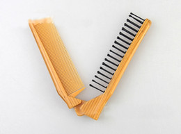 Wholesale Hot Magic Comb - V Folded Hot Magic Hair Style Comb Brush Curling Care Multi Fuction Travelling Comb Free Shipping by DHL