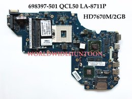 Wholesale Hp Motherboard Support - High quality Laptop Motherboard for HP Pavilion M6-1000 698397-501 QCL50 LA-8711P HM76 PGA989 DDR3 HD7670M 2GB 100% Fully Tested