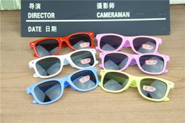 Wholesale Wholesale Framing Nails - Fashion Children Anti UV Light 2015 girls boys sunglasses M nail sunglasses candy color sun glasses free shipping in stock