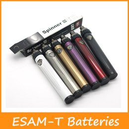 Wholesale Newest Variable Voltage - Newest ESAM-T Spinner 3S 1600mah Batteries 3.6-4.8V CVT variable voltage Battery Better than Spin 3 Battery