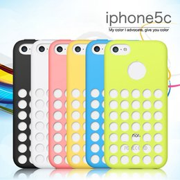 Wholesale Cheapest Iphone 5c Cases - Swimming TPU Quad for iPhone 5C Cheap Dustproof Phone Case Candy Grip Cell Phone Cover Hot Sale