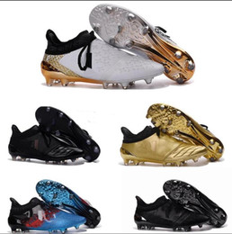 Wholesale Print Control - New X 16+ Purechaos FG AG soccer boots Pure Control Football Shoes Soccer Cleats Boots Cheap Mens Shoes Original Quality